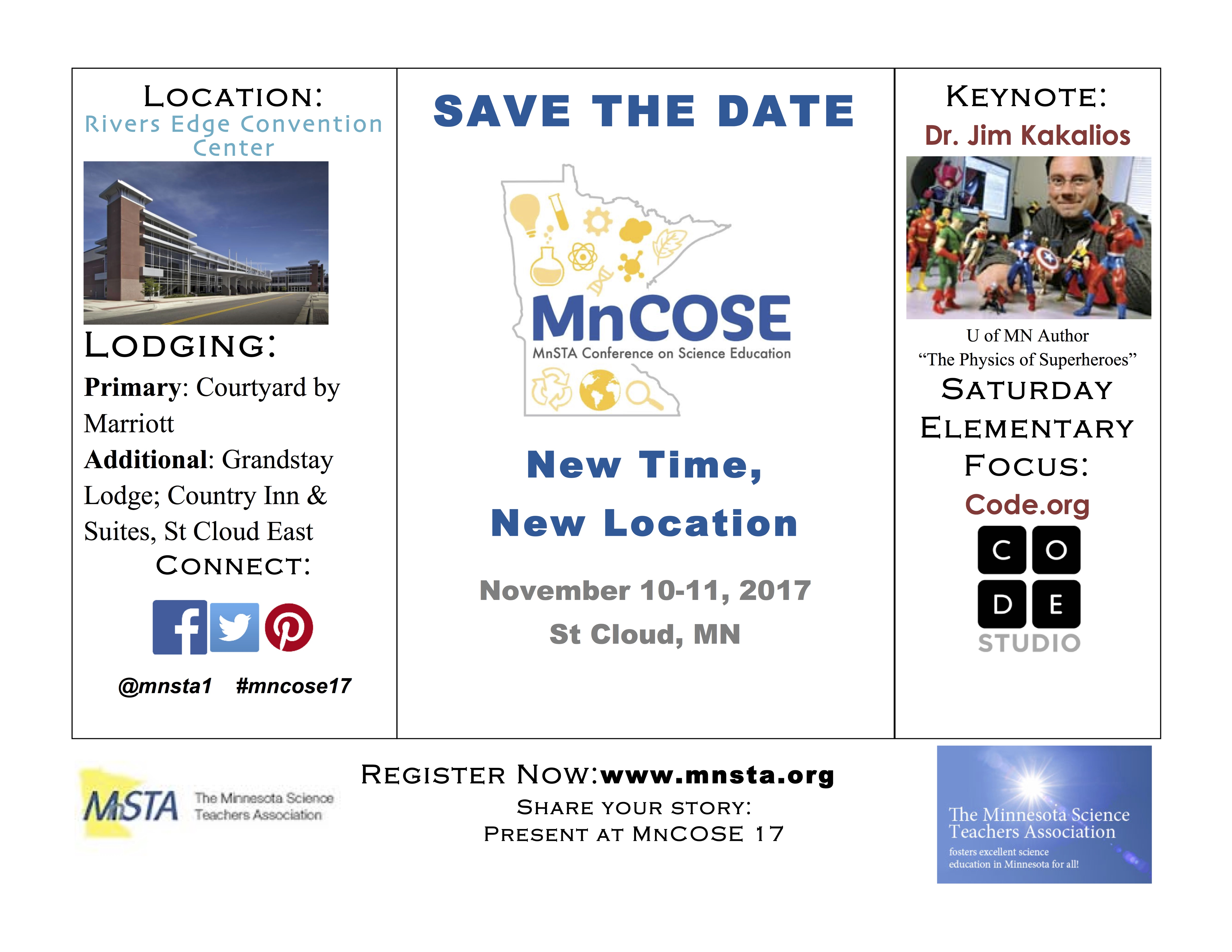 MnCOSE17 Save the Date image