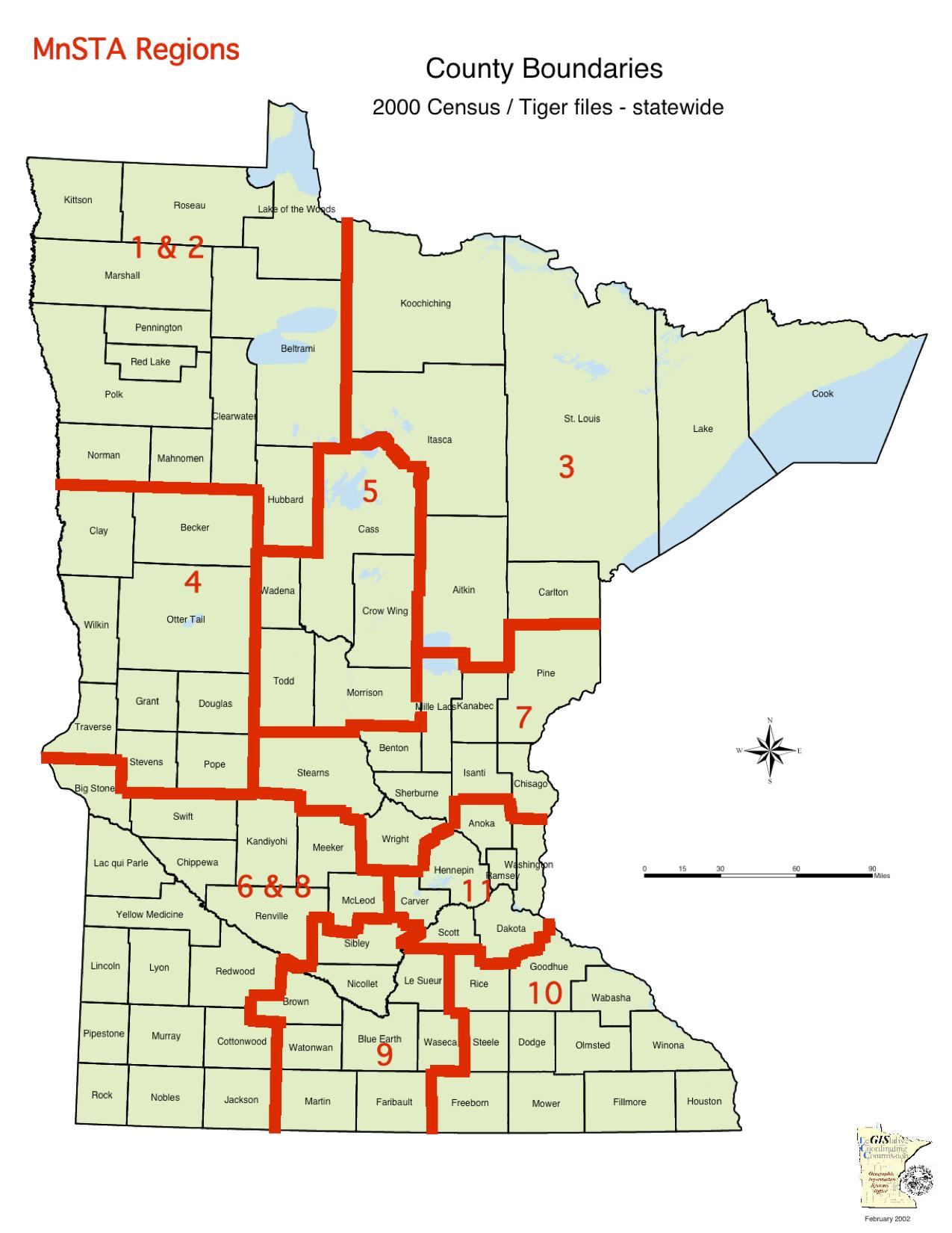 MnSTA Regions