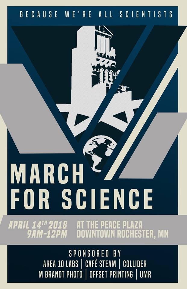 March for Science 2018 Rochester