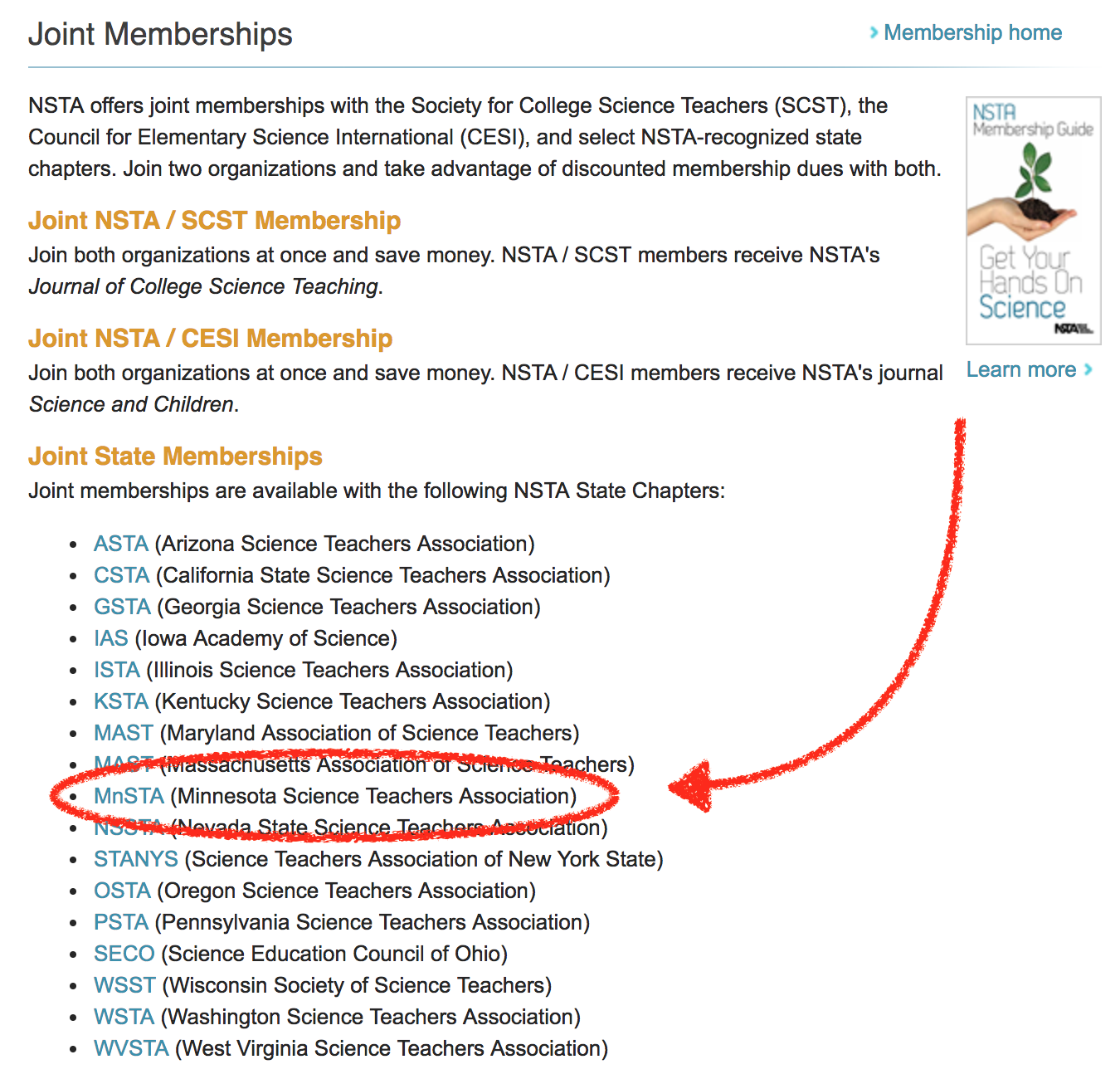 NSTA Joint 2